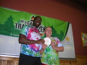 Awards at Camp Trailblazers