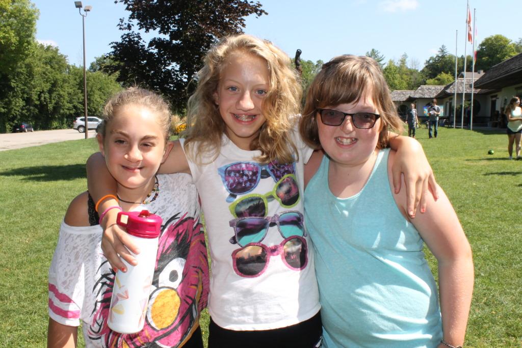 Alexandra and camp friends!