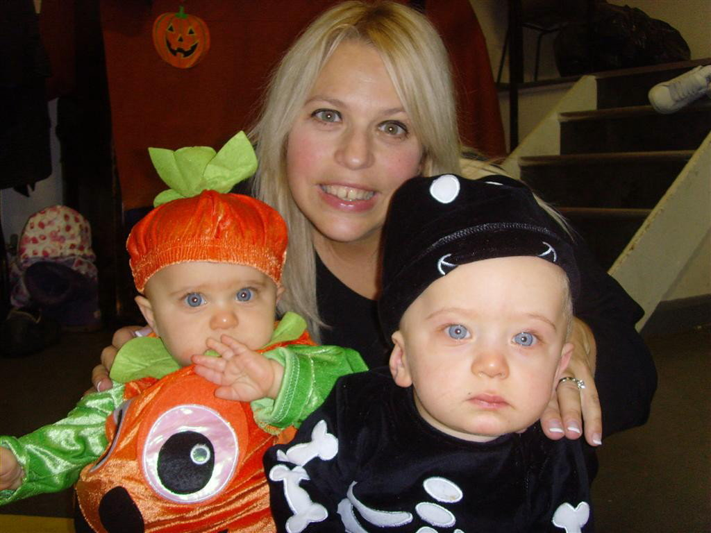 Michelle with Poppy and Henry