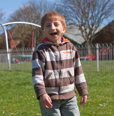 Sam at the Park