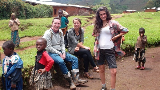 Hannah, luke and pippa for palm oil project