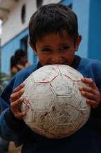 Child at Liga de Deportes