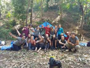 The 48hr Jungle Sleep Out Crew!