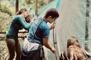 Campout Fundraiser - Tent Raising