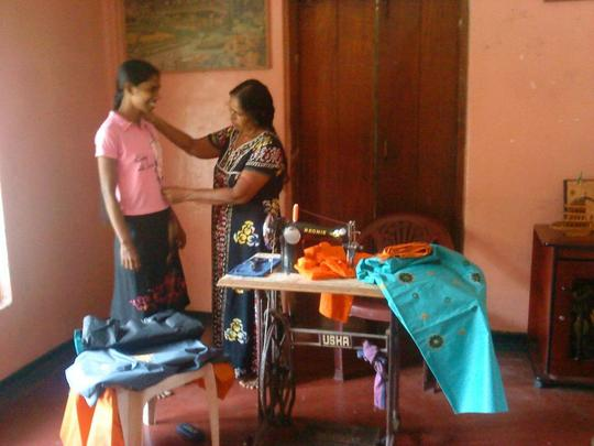 Mrs. Nallammah Vadivel and Her Client