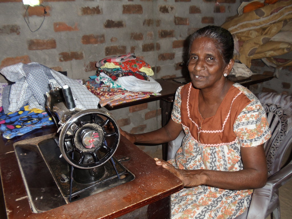 Mrs. Kanmani sews her way out of poverty