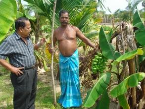 CERI National Director visits Selvam's farm