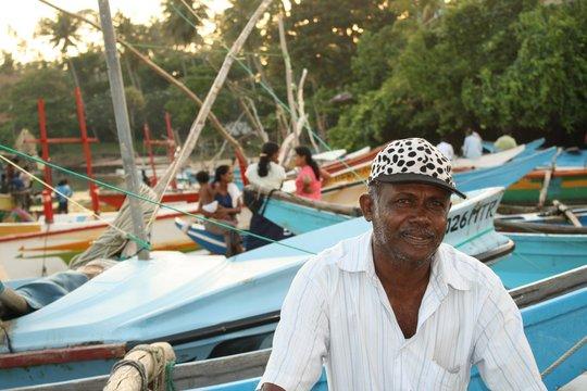 Sri Lankan Fisherman supported by CERI