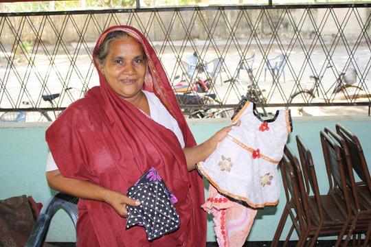 A recipient of a CERI Loan Sells Hand-Made Clothes