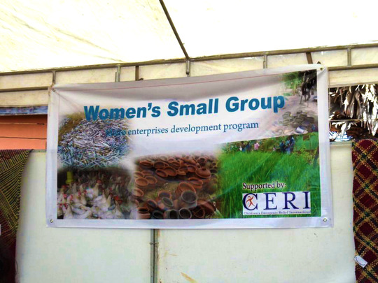 Women's Small Group Sign