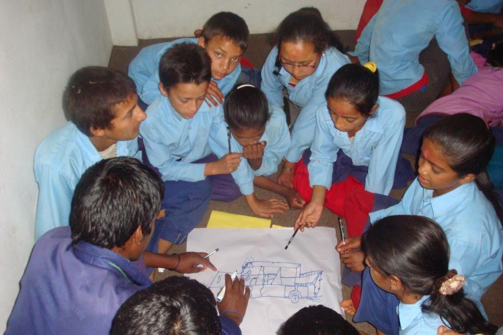 NC Members preparing their Action Plan