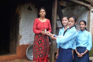 Door to Door Campaign for Safe Water Promotion