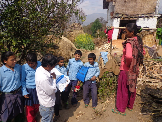 Door to Door Program by Students on Safe Water