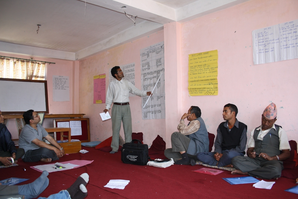 Participants presenting vision and action plan
