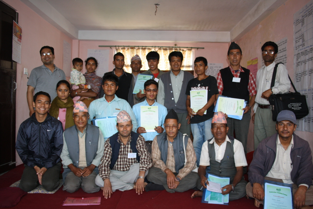 Group Photo of Youth Training Program