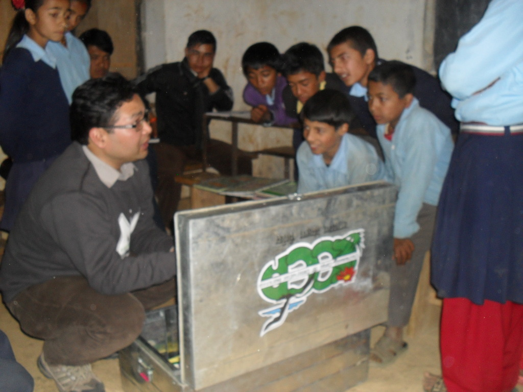 Briefing to Nature Club Member on Nature Club Kit