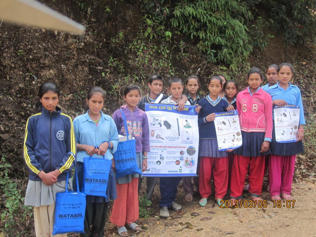 Door To Door program by students for safe water
