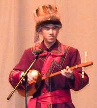 Viktor onstage in St. Petersburg