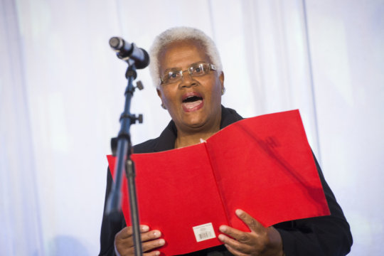 Elaine at the 2015 Leadership Luncheon