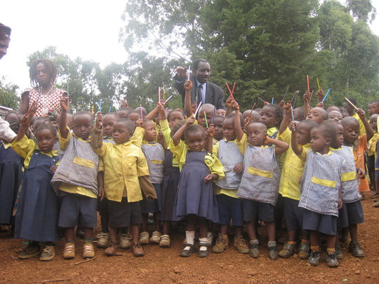 Help Takija build a nursery school to educate 60