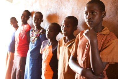 Girls at Kipsing Academy