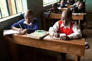 Samwel in school