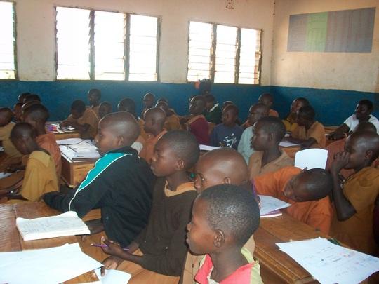 Classroom at Kipsing
