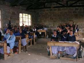 Provide an education for needy Kenyan children