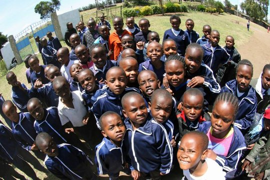 Children at Sawa Academy