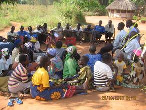 Community awareness meeting