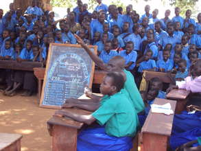 A school debate in Lokung sub-country