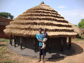 A child mother supported by KICWA
