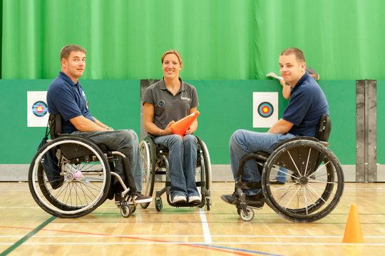 Back Up U-18s wheelchair skills training course