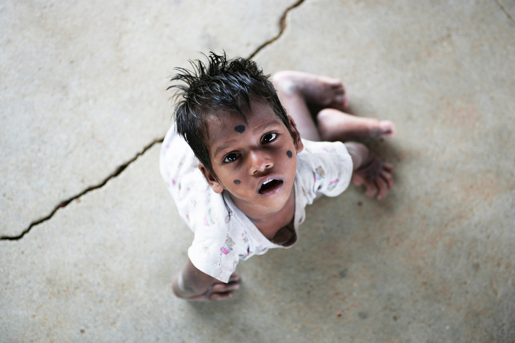 Street child, India