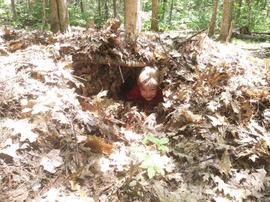 Social distancing debris hut (2019)