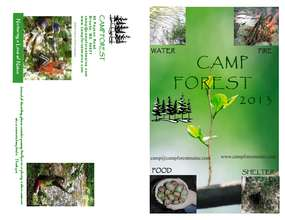 The 2013 Camp forest brochure (PDF)
