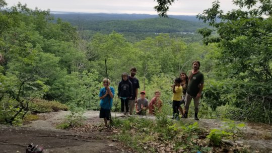 Post-portage on the Watershed Expedition
