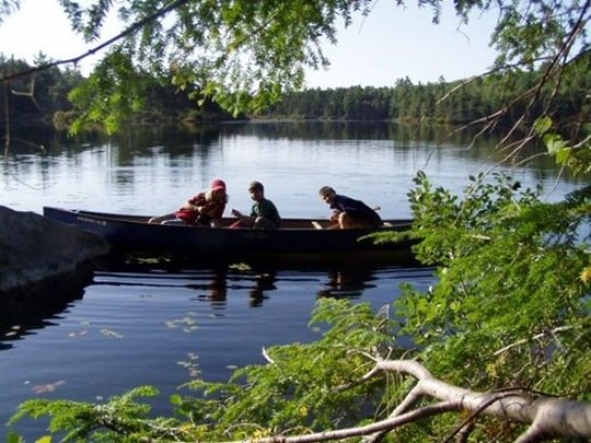 Companionship in the canoe