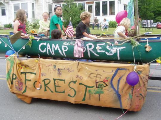 Camp Forest blends socio-ecological worlds