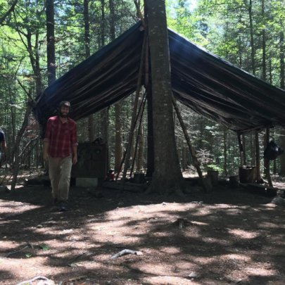 Mark in Camp Forest