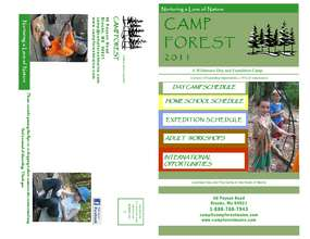 Camp Forest 2011 (PDF)