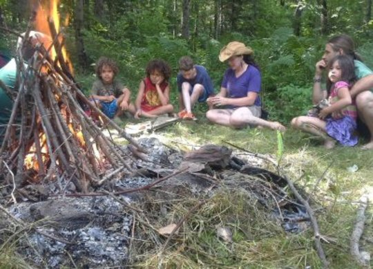 Learning around the fire