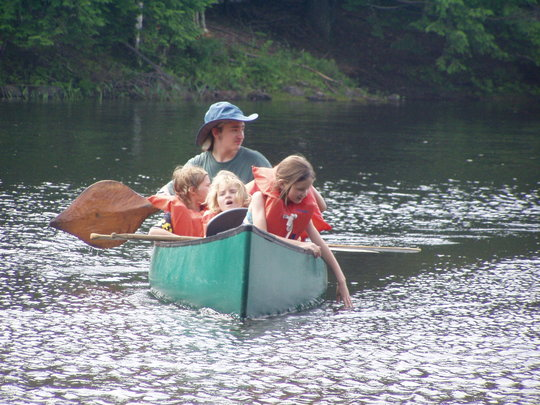 First Canoe Ride