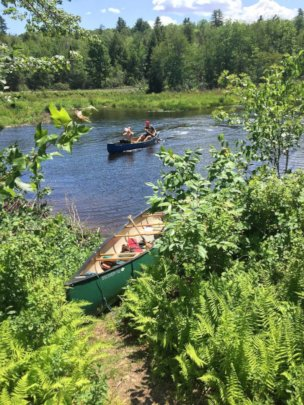 Watershed expedition is the first week of camp