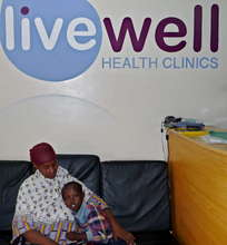 Mother and Child at Kayole Clinic