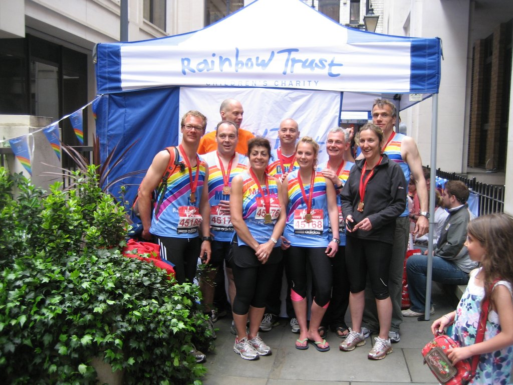 Support Rainbow Trust's Work with Sick Children.