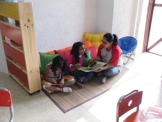 Children in Toy Library of Zumpango