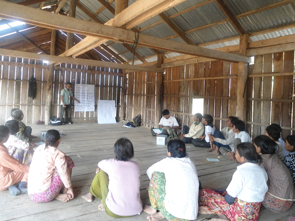 Restructuring of the groups in Brahout village