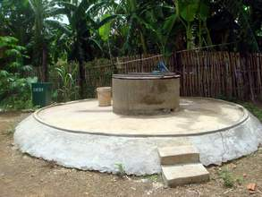 A finished open well!