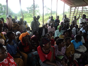 village based AIDS Day commemoration